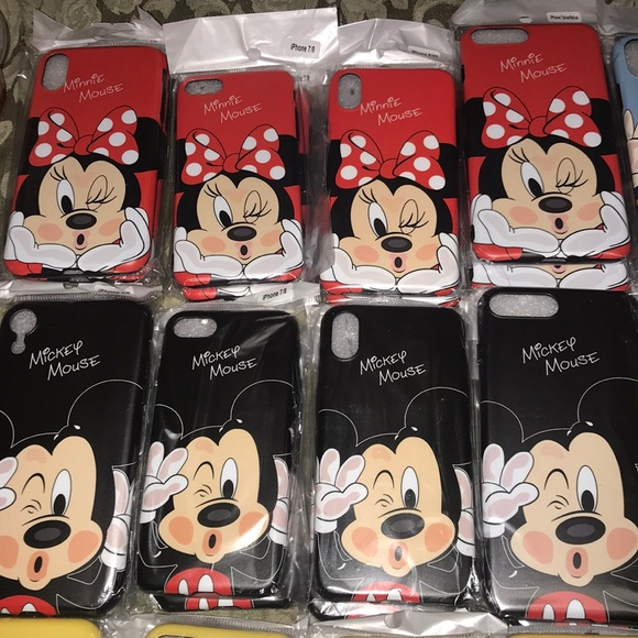 MICKEY and MINNIE iPhone cases